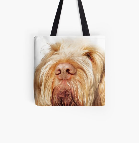 Waiting for you Spinone All Over Print Tote Bag