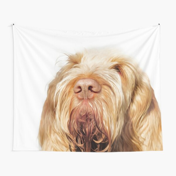 Waiting for you Spinone Tapestry