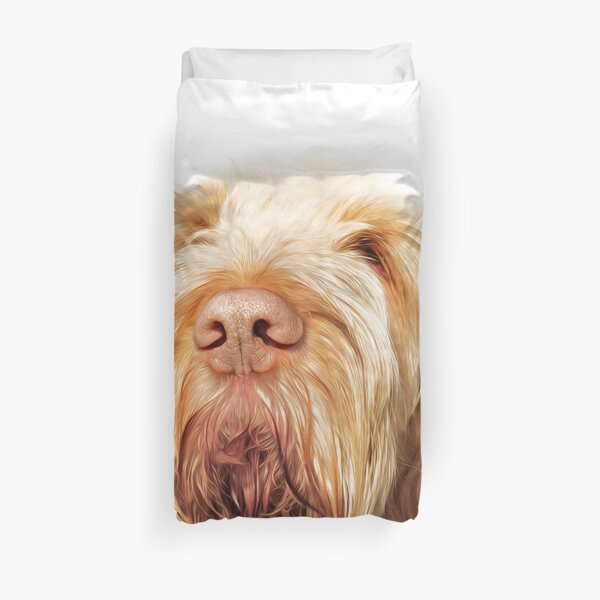 Waiting for you Spinone Duvet Cover