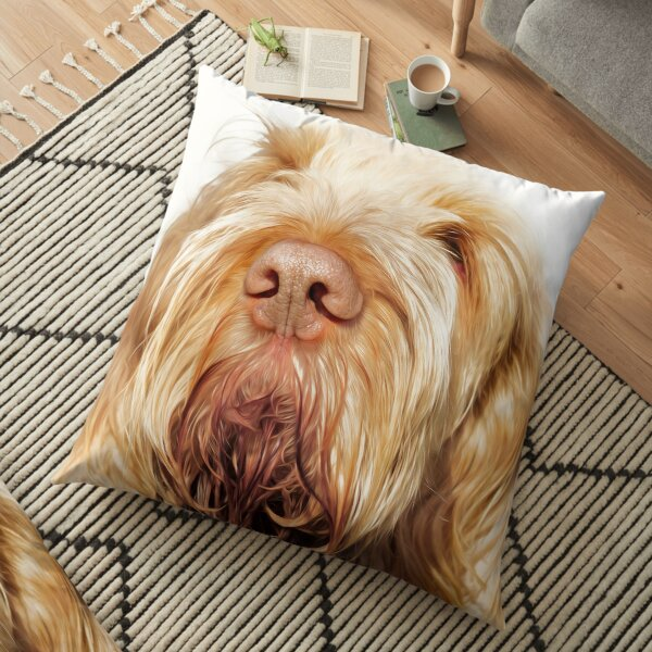 Waiting for you Spinone Floor Pillow