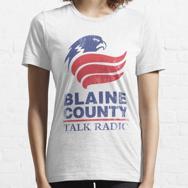Radio du comté de Blaine T-shirt essentiel