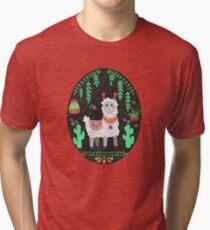 Pretty Lama Tri-blend T-Shirt