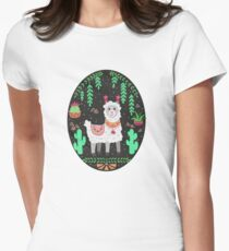 Pretty Lama Fitted T-Shirt