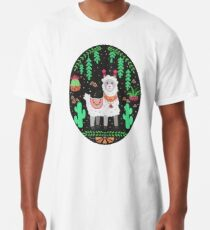 Pretty Lama Long T-Shirt
