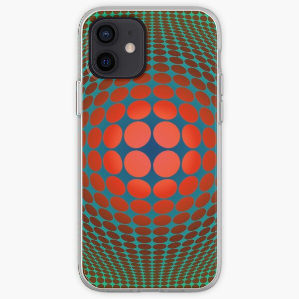 Copy of Victor Vasarely Homage 20 iPhone Soft Case