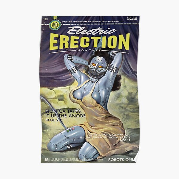 Electric Erection Monthly (sept issue) Poster