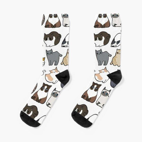 Katzen Katzen Katzen Socken