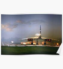 Póster Despegue Concorde