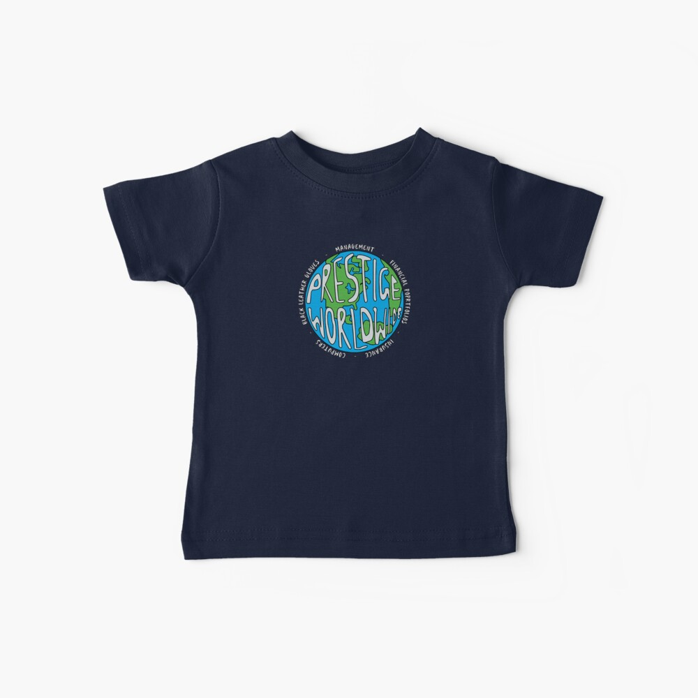 Step Brothers | Prestige Worldwide Enterprise | The First Word In Entertainment | Original Design Baby T-Shirt
