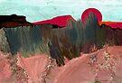 """Desert Sunset""  - Arizona desert hills. by Patrice Baldwin"