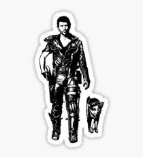 The Road Warrior Sticker