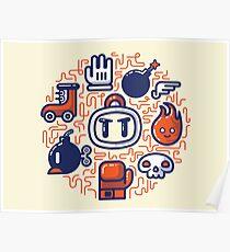 Bomberman Essentials Poster