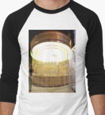 Carousel Long exposure  Men's Baseball ¾ T-Shirt