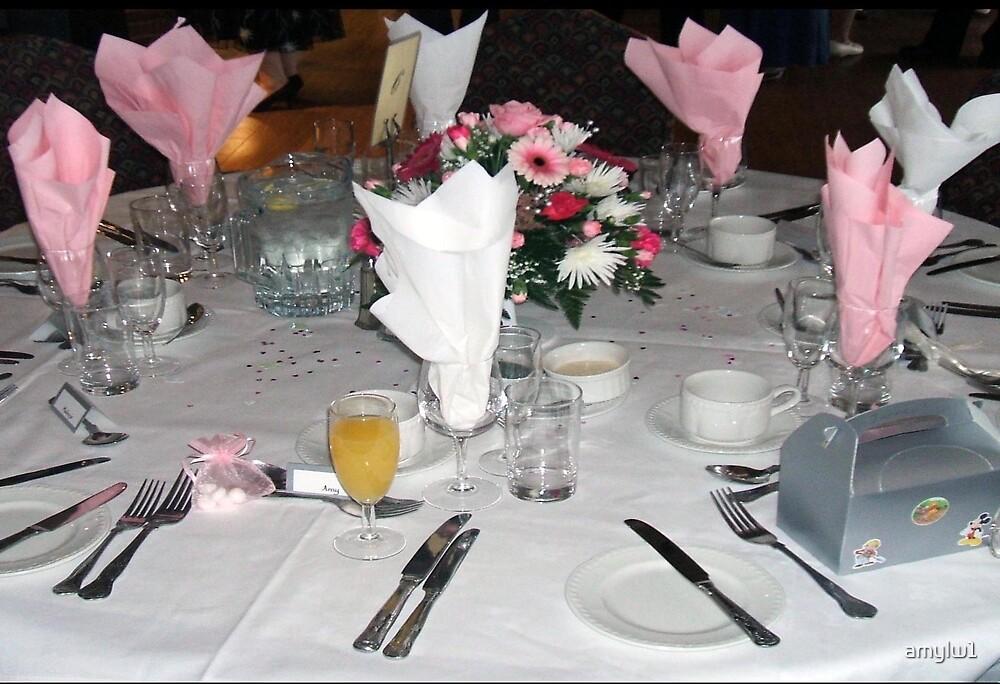 The wedding breakfast by amylw1