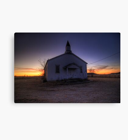 The Humble House of GOD Canvas Print