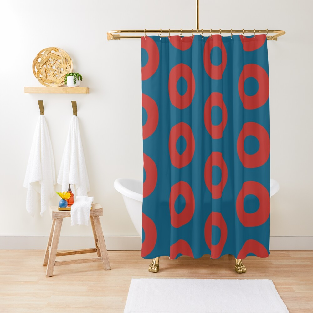 Fishman Donuts - Phish Shower Curtain