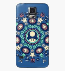 One Up Mandala Case/Skin for Samsung Galaxy