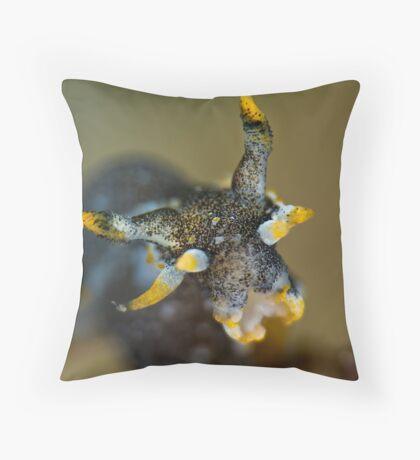 Polycerta Pose Throw Pillow