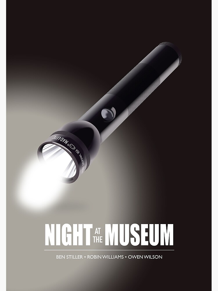 Night At The Museum - Alternative Movie Poster by MoviePosterBoy