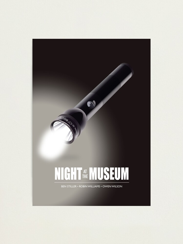 Alternate view of Night At The Museum - Alternative Movie Poster Photographic Print