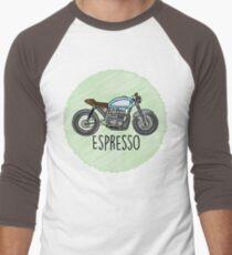 Espresso - Cafe Racer Men's Baseball ¾ T-Shirt