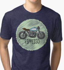 Espresso - Cafe Racer Tri-blend T-Shirt
