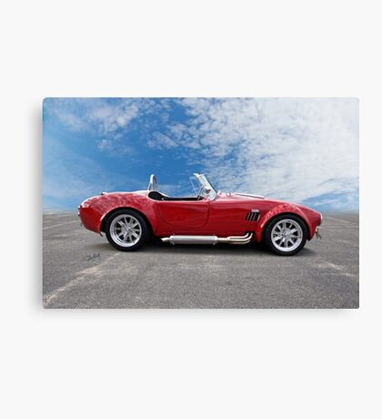1966 Shelby Cobra 427 Roadster Canvas Print