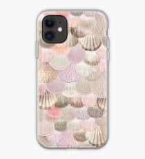 MERMAID SHELLS ROSEGOLD by Monika Strigel iPhone Case