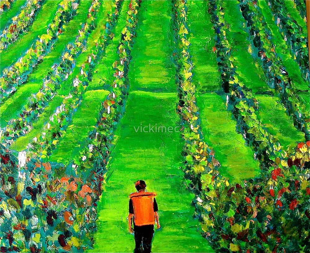 Harvest time  by vickimec