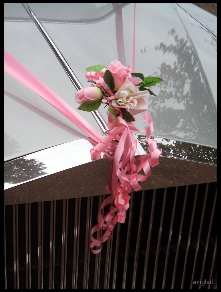 Wedding flowers and car by amylw1