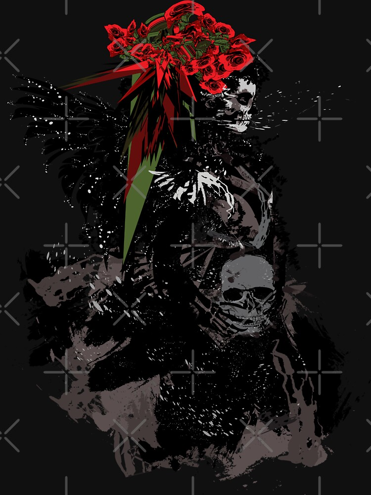 Skull Girl by cheeckymonkey