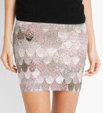 SUMMER MERMAID NUDE ROSEGOLD Mini Skirt