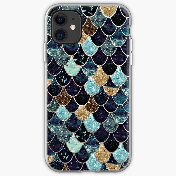 MYSTIC MERMAID BLUE iPhone Soft Case