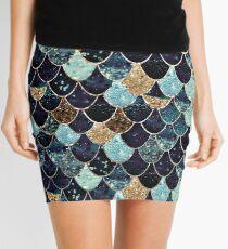 MYSTIC MERMAID BLUE Mini Skirt