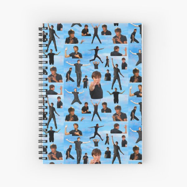 Zac Efron Troy Bolton Bet On It  High School Musical Spiral Notebook