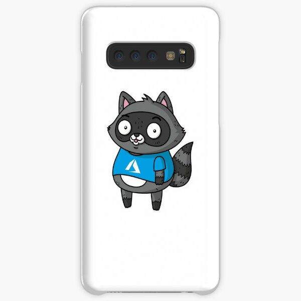 Azure Bit the Raccoon Samsung Galaxy Snap Case