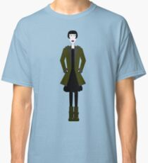 Goth Girl Character Classic T-Shirt