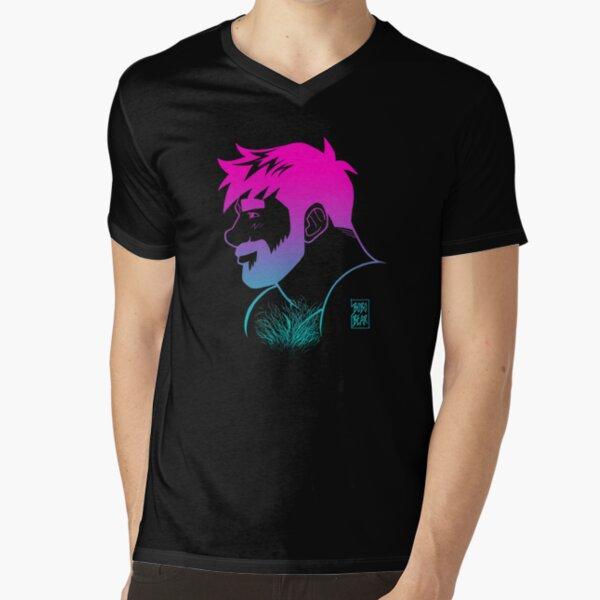 ADAM LIKES RAINBOWS V-Neck T-Shirt