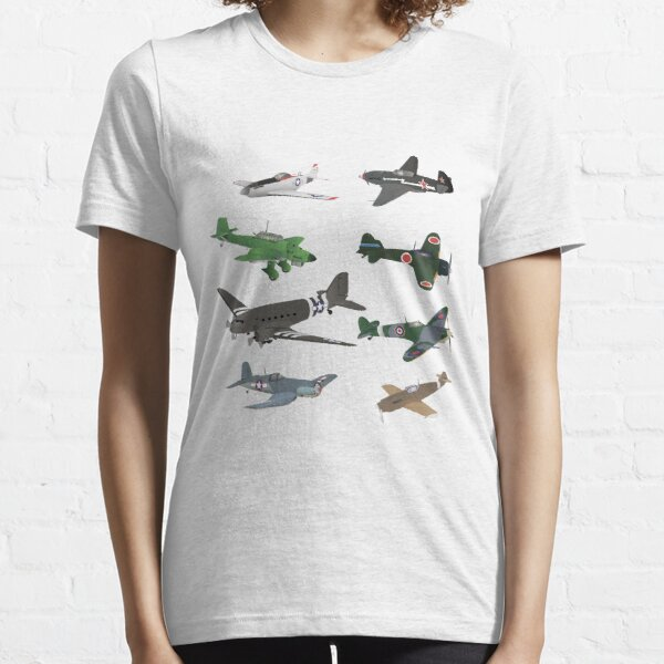 Multiple WW2 Airplanes Essential T-Shirt