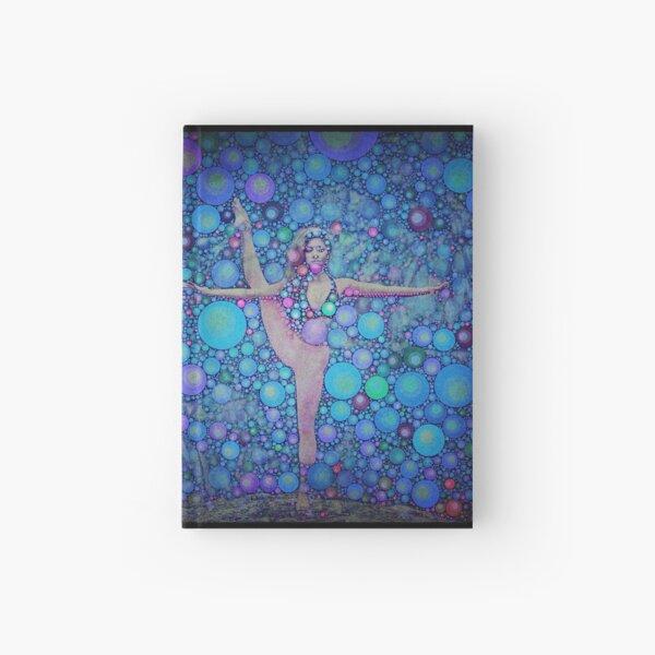 Yoga art 14 Hardcover Journal