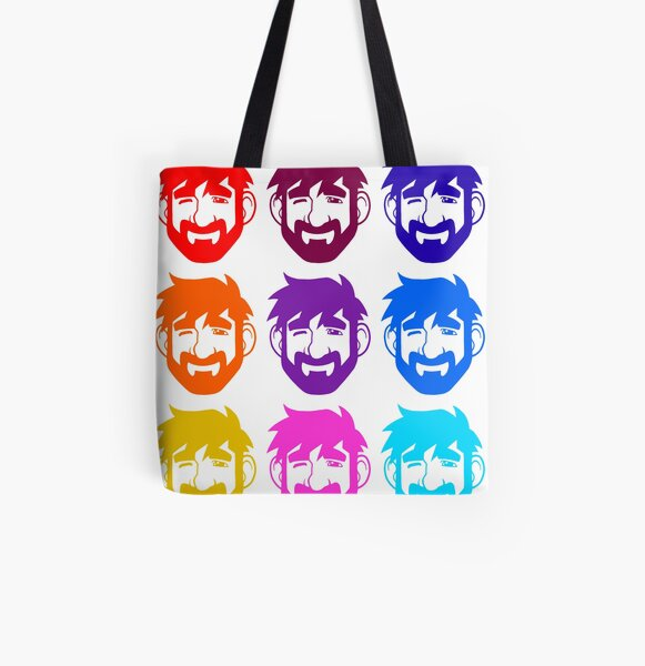 BEARS IN THE AIR All Over Print Tote Bag