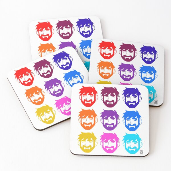 BEARS IN THE AIR Coasters (Set of 4)