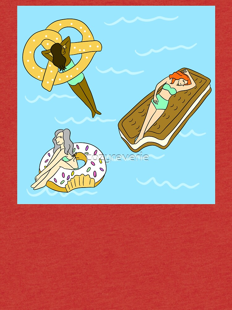 Foodie Pool Party by cozyreverie