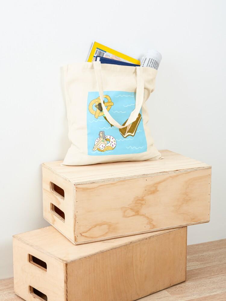 Alternate view of Foodie Pool Party Tote Bag