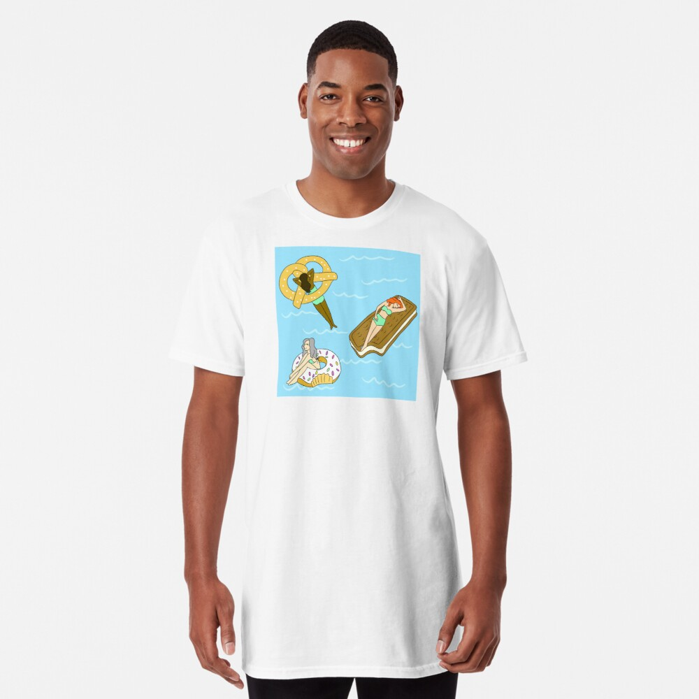 Foodie Pool Party Long T-Shirt