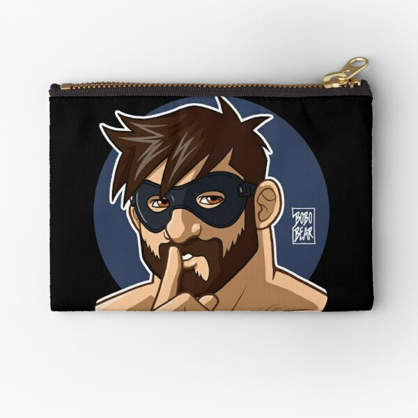 ADAM LIKES TO BE NAUGHTY Zipper Pouch