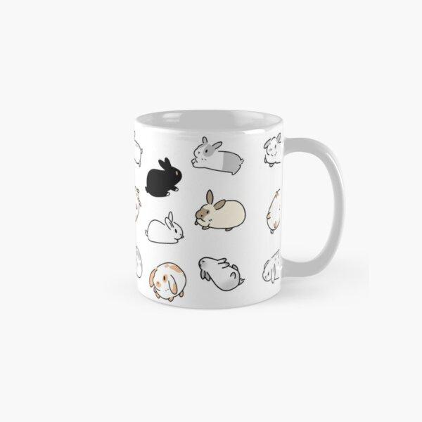 Bunny Rabbit Stickers Classic Mug
