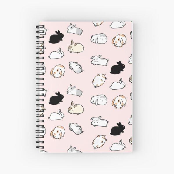 Bunny Rabbits Spiral Notebook