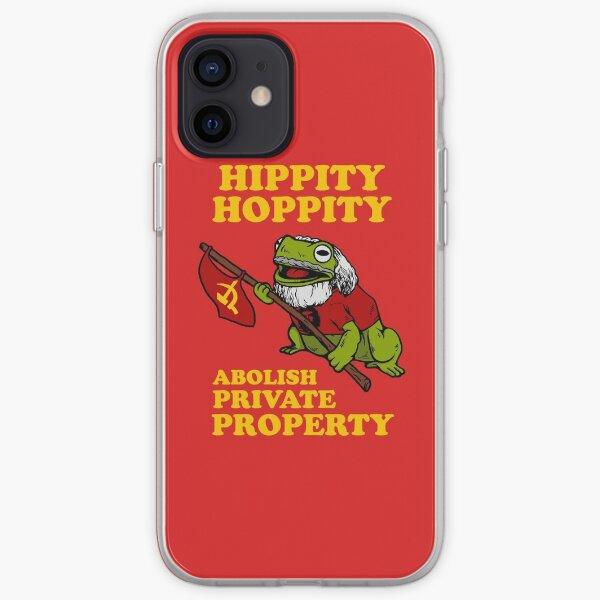 Hippity Hoppity Abolish Private Property iPhone Soft Case
