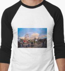 Dismaland Rainbow Men's Baseball ¾ T-Shirt